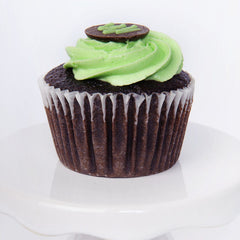 Decorated Cupcake - chocolate