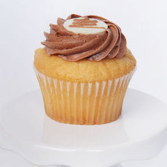 Decorated Cupcake - vanilla