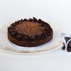 - Flourless Chocolate Truffle Cake
