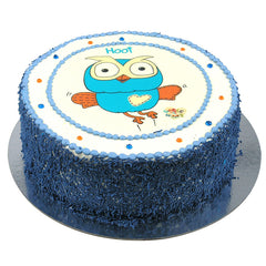 Hoot cake - Buttercream