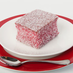 Raspberry Lamington