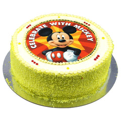 Mickey Mouse cake - Buttercream