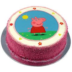 Peppa Pig cake - Buttercream