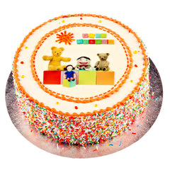 Play School cake - Buttercream