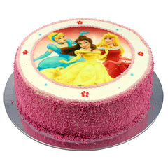 Disney Princesses cake - Buttercream