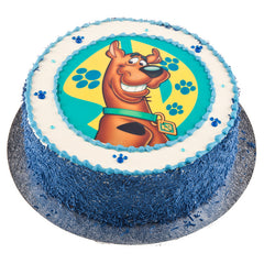 Scooby Doo (blue) cake - Buttercream