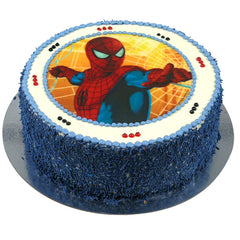 Spiderman cake - Buttercream