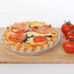 Family Spinach & Tomato Quiche