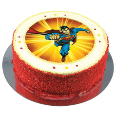 Superman cake - Buttercream