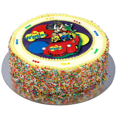 The Wiggles cake - Buttercream