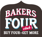 Bakers Four Club - Buy Four, Get More