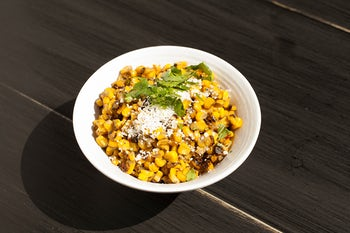 Fire Roasted Street Corn at California Fish Grill