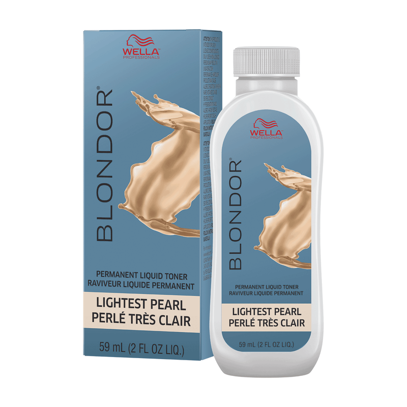 Blondor Permanent Liquid Toner - Lightest Pearl