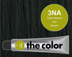 The Color 3NA Dark Natural Ash Brown