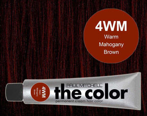 The Color 4WM Warm Mahogany Brown