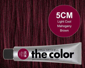 The Color 5CM Light Cool Mahogany Brown