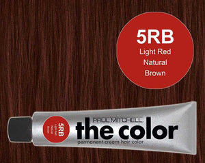 The Color 5RB Light Red Natural Brown