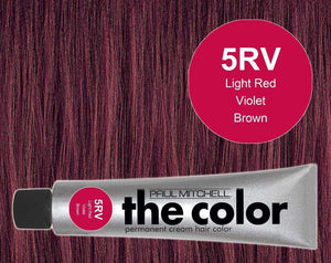 The Color 5RV Light Red Violet Brown