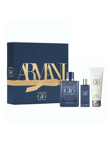 ACQUA DI GIO PROFONDO EAU DE PARFUM 75ML HOLIDAY GIFT SET