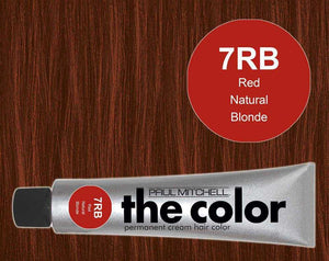 The Color 7RB Red Natural Blonde