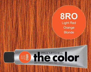 The Color 8RO Light Red Orange Blonde