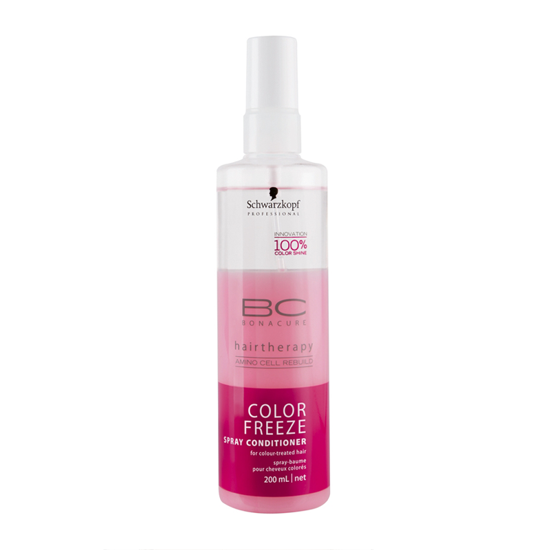 BC Bonacure Color Freeze spray conditioner for colour-treated hair
