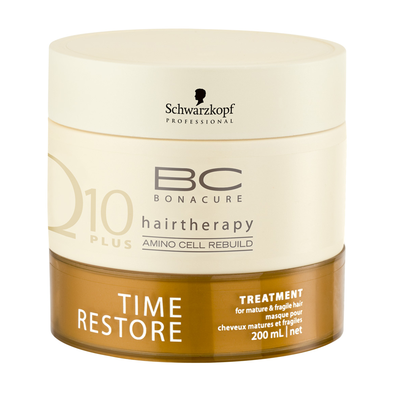 BC Bonacure Q10 Plus Time Restore treatment for mature and fragile hair