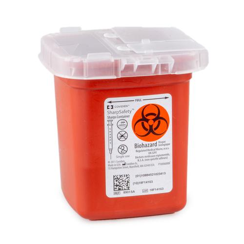 Used Sharps Container