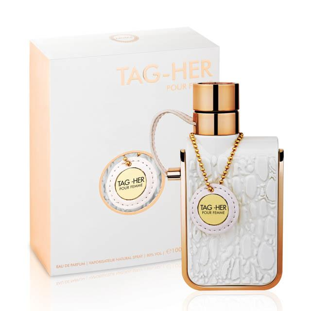 Tag Her eau de toilette spray