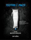 Master Cordless Lithium-ion clipper