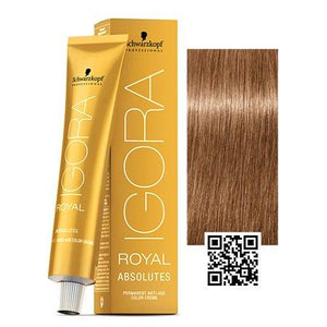 Igora 8-07 Light Blonde Natural Copper - Royal Absolutes Age Blend