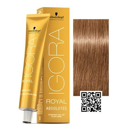 Igora 6-07 Dark Blonde Copper Natural - Royal Absolutes Age Blend