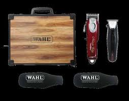 Wahl Barber Wood Case For 5 Star Magic Clipper/ Cordless Shaver/Shaper ( clippers Not Included)