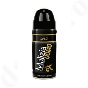 Uomo Gold deodorant spray
