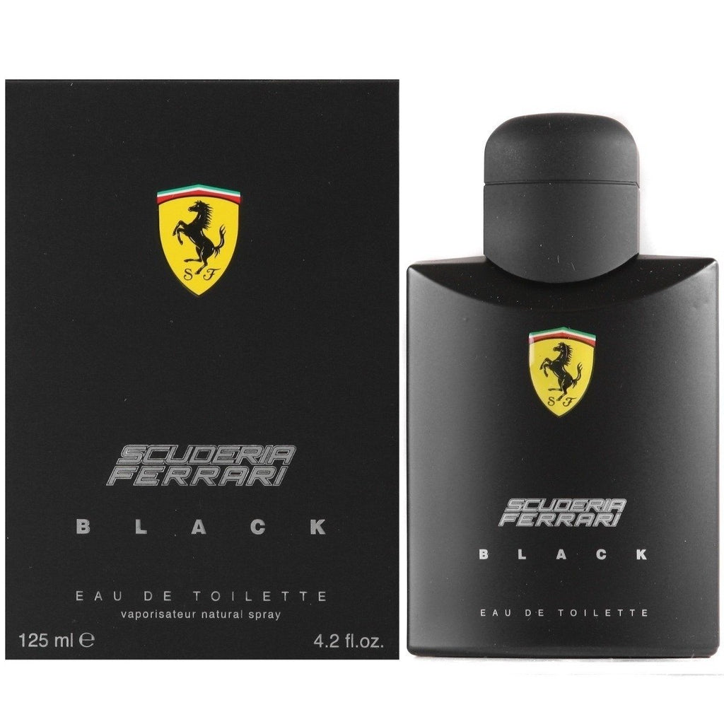 Scuderia Black eau de toilette spray