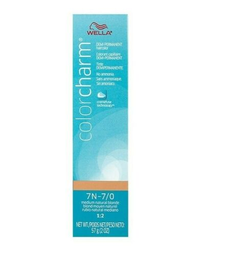 Color Charm Demi-Permanent Hair Color 7N-7/0 Medium Natural Blonde