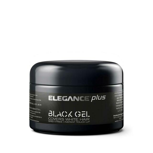 Hair Styling Gel Plus Black Color