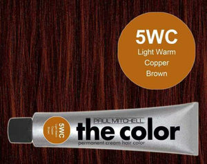 The Color 5WC Light Warm Copper Blonde