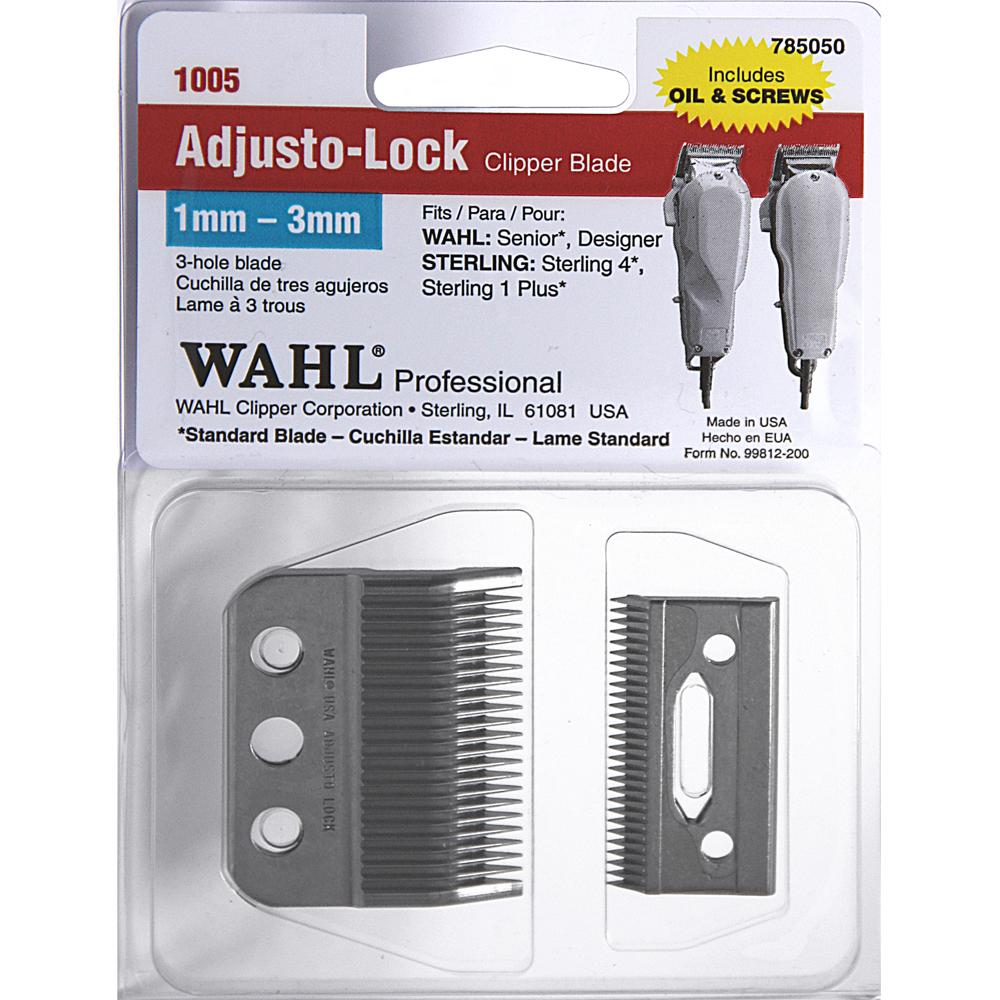 3-Hole Adjusto-Lock clipper blade item #1005