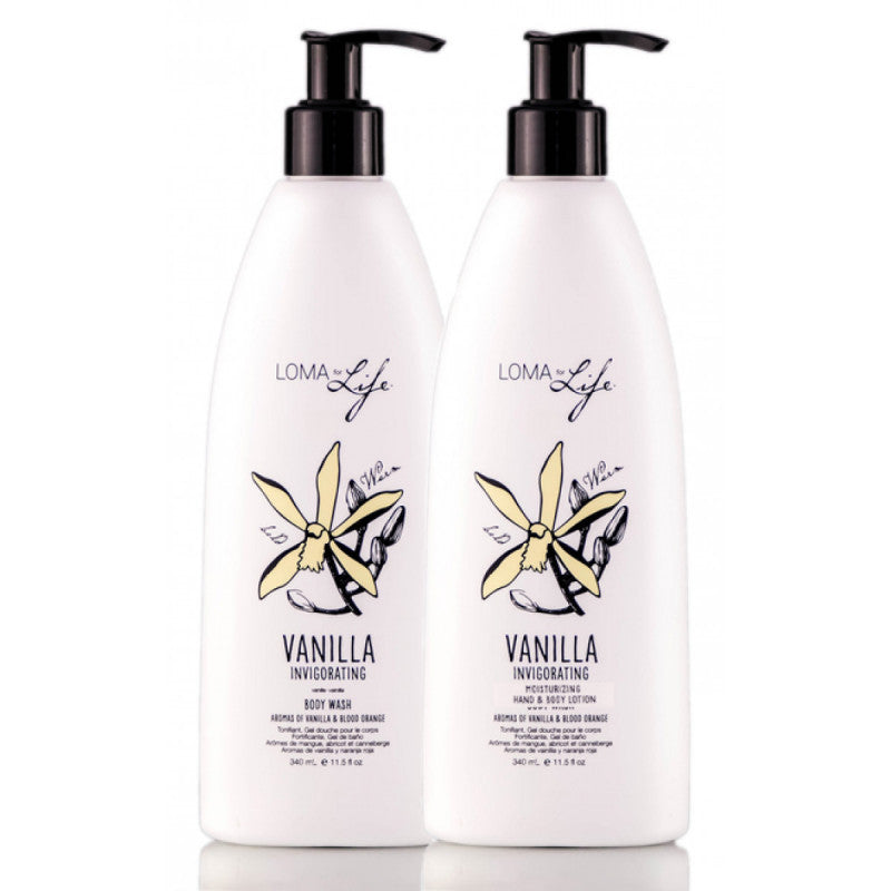 Vanilla Cleanser And Lotion duo