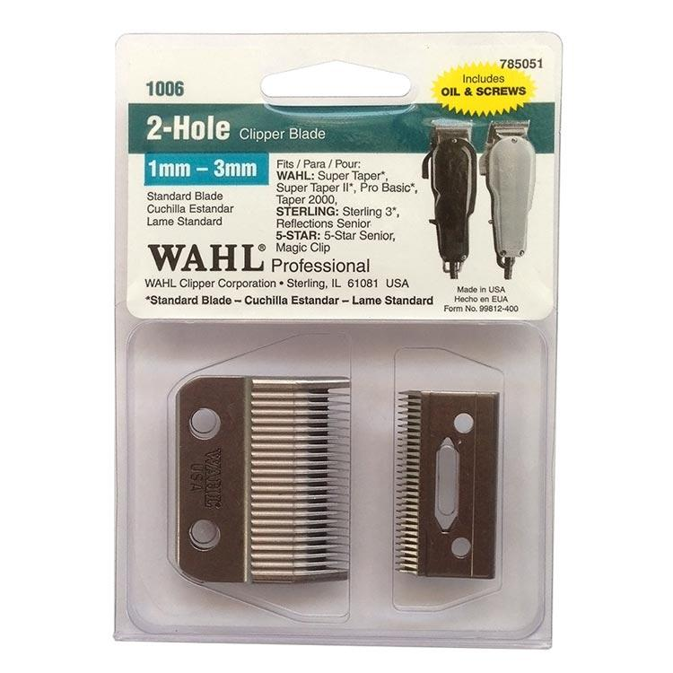 2-Hole clipper blade item # 1006