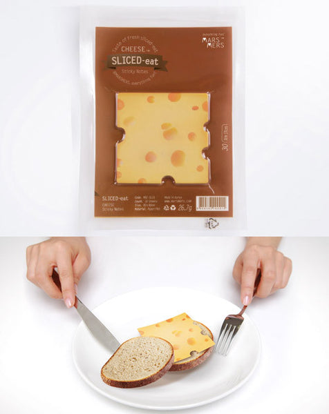 CHEESE Cheddar Sticky Notes