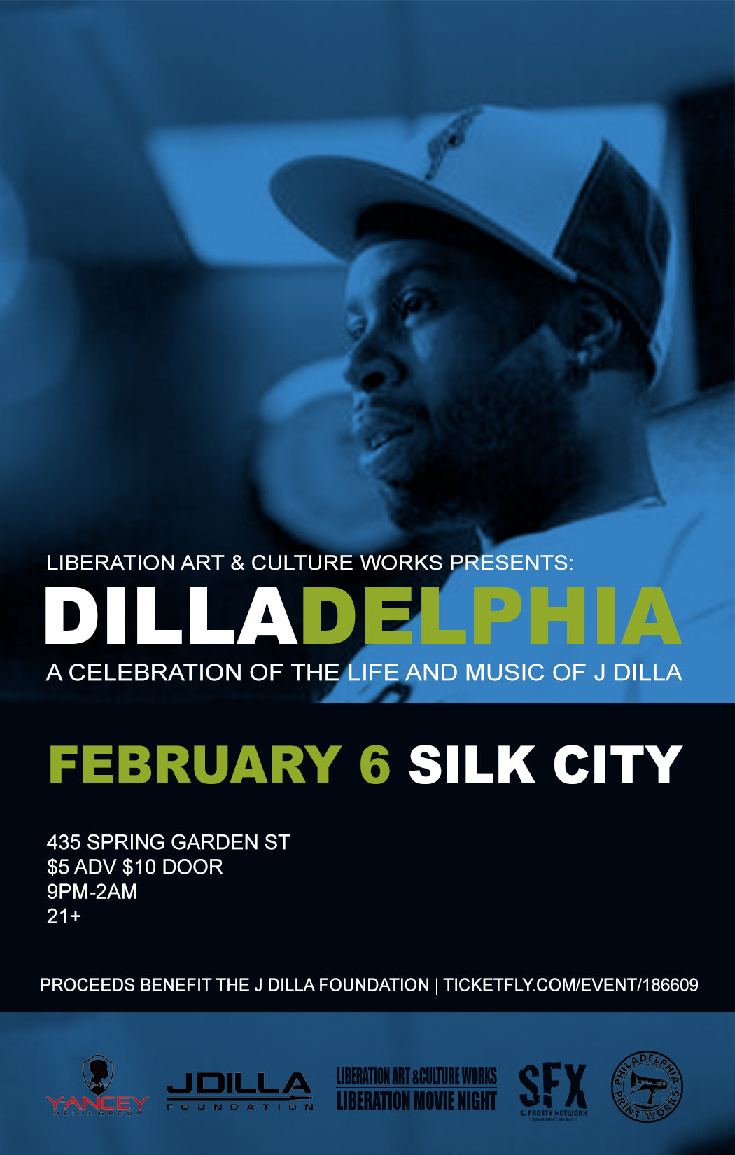 DILLADELPHIA: A CELEBRATION OF THE LIFE & MUSIC OF J DILLA