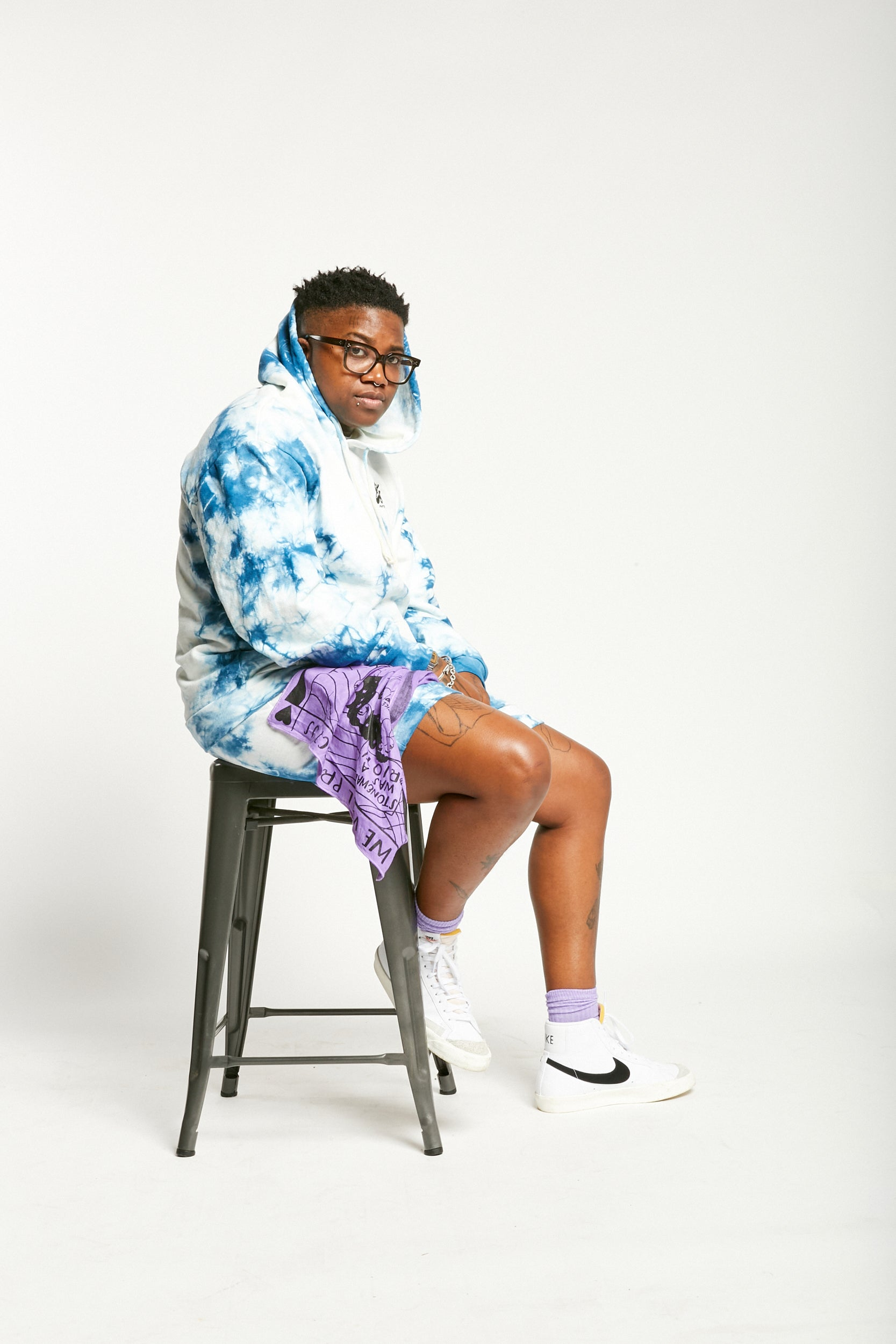 Tiona McClodden models Pride Capsule Collection