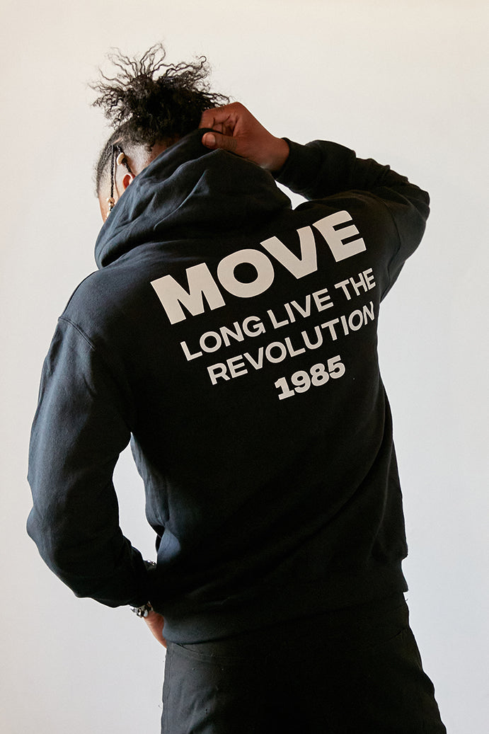 Long Live Revolution Hoodie back