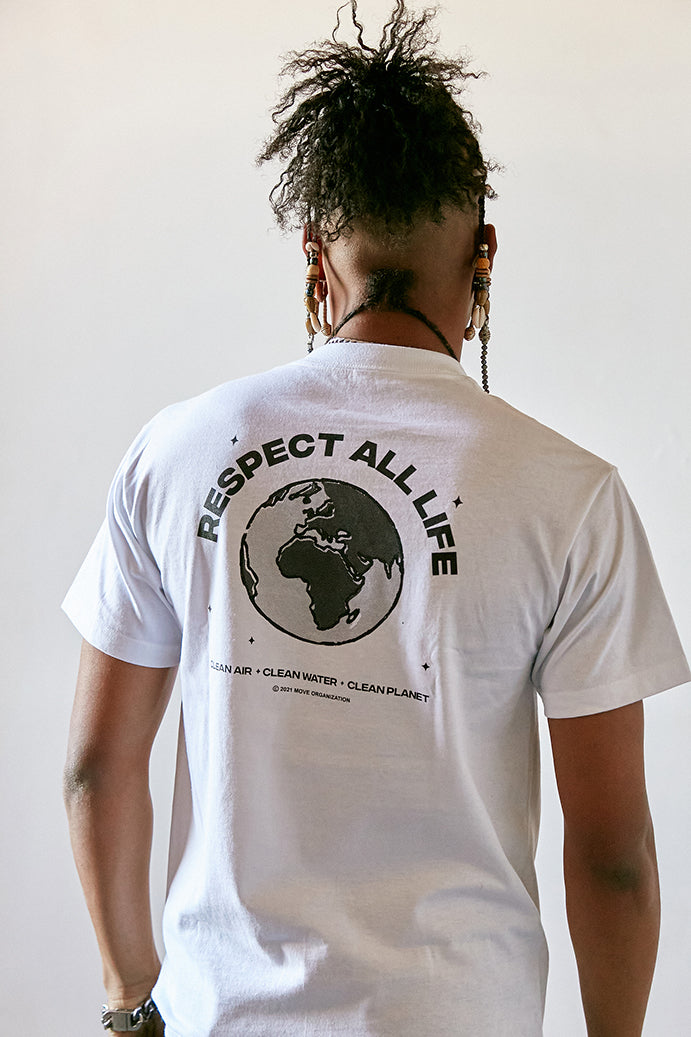 Respect All Life T-Shirt back