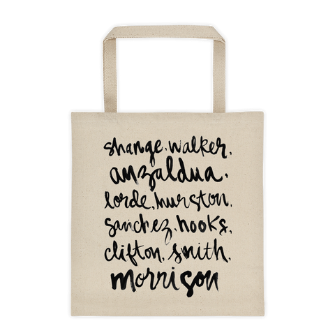 Feminist Authors Tote | Diata Crystal