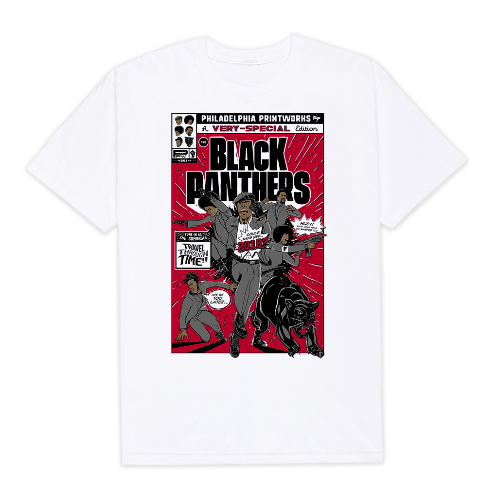 Black Panthers Comic T-Shirt | Donte Neal