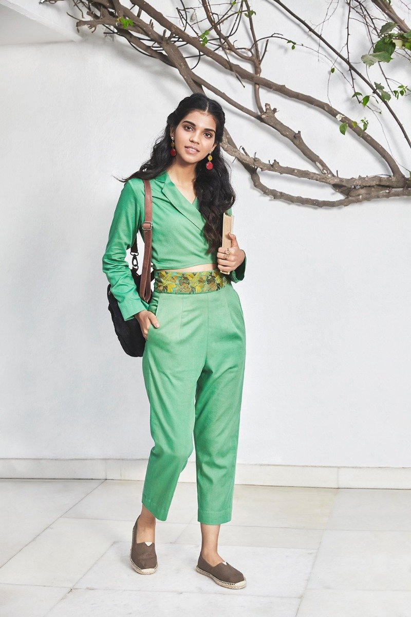 Tropic Like It's Hot organic cotton jumpsuit