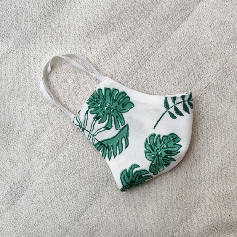 Monstera Me mask